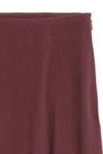 Flared skirt - Burgundy - Ladies | H&M CN 3